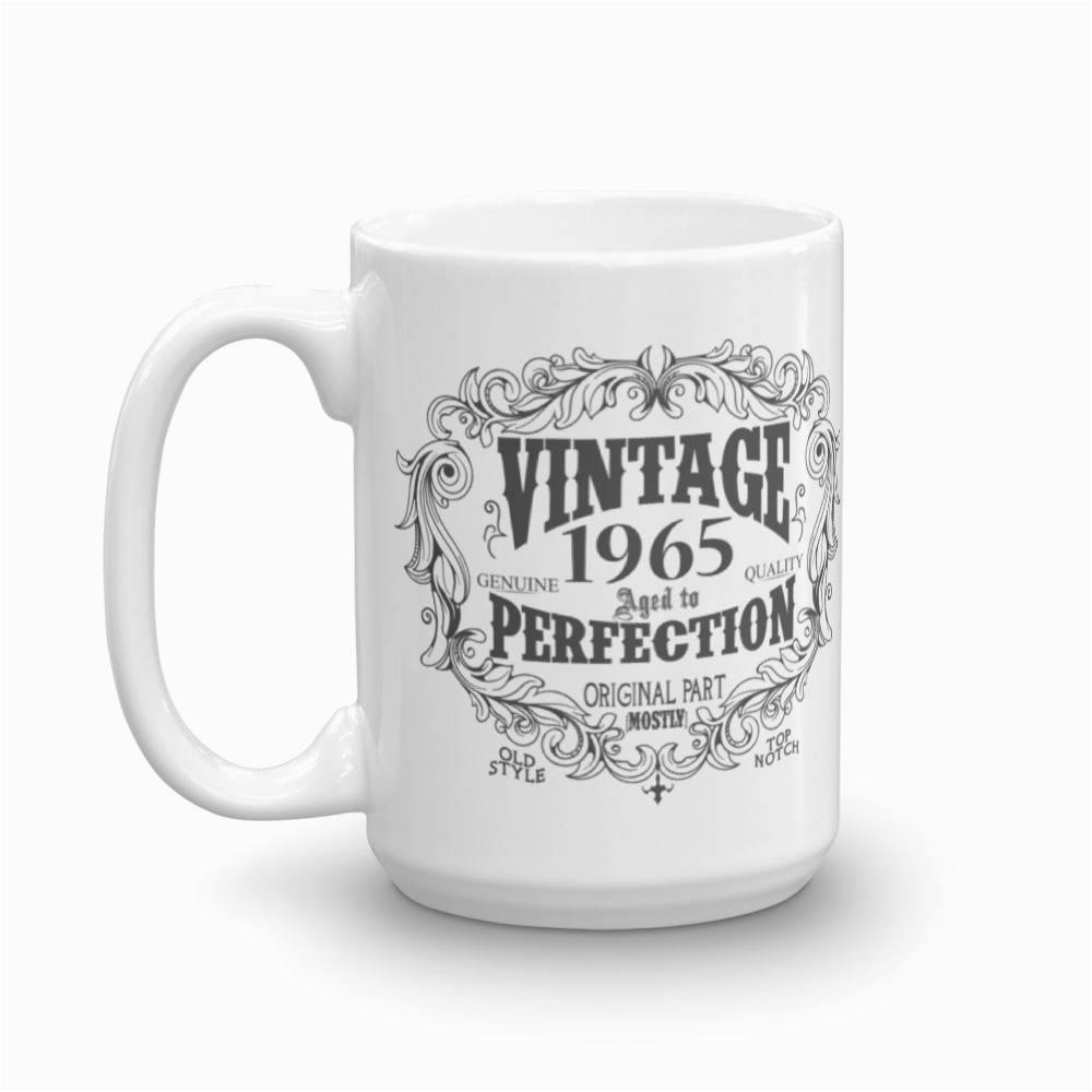 born in 1965 mug 53 years old coffee mug