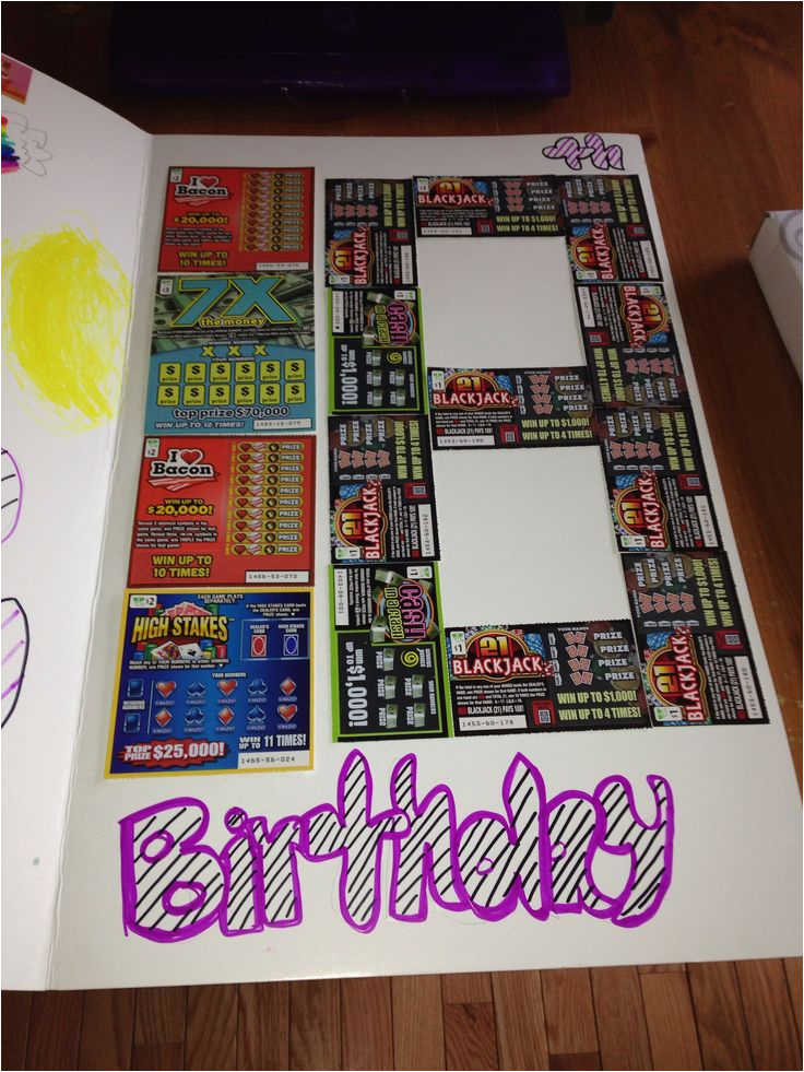 Birthday Gifts for Boyfriend 18th 54 Best Images About Diy Lottery Tickets Gifts Basket On