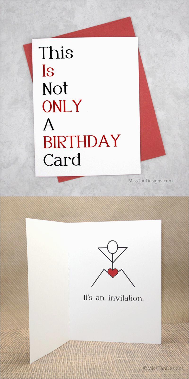 Birthday Gifts for Boyfriend Uk Boyfriend Birthday Cards Not Only Funny Gift Sexy