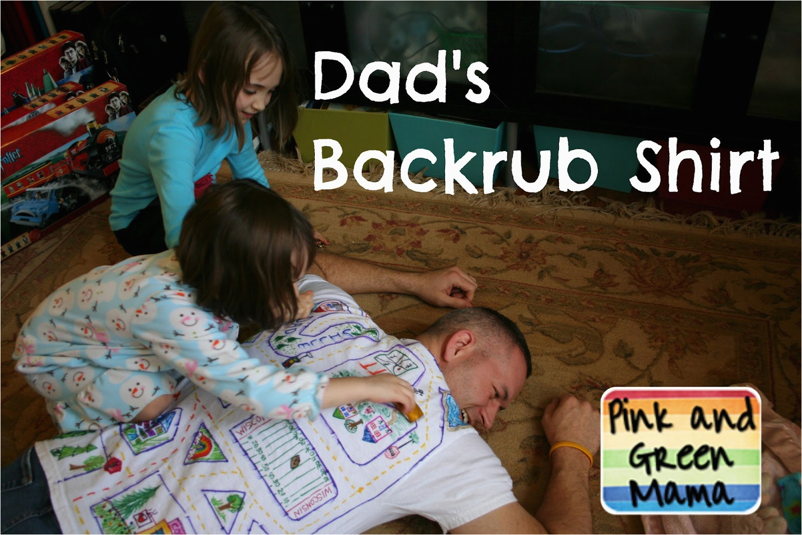 homemade fathers day gift backrub t