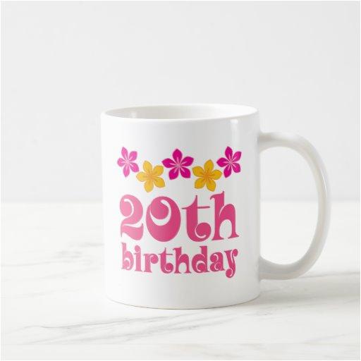 20th birthday gift ideas coffee mug 168487866619401517