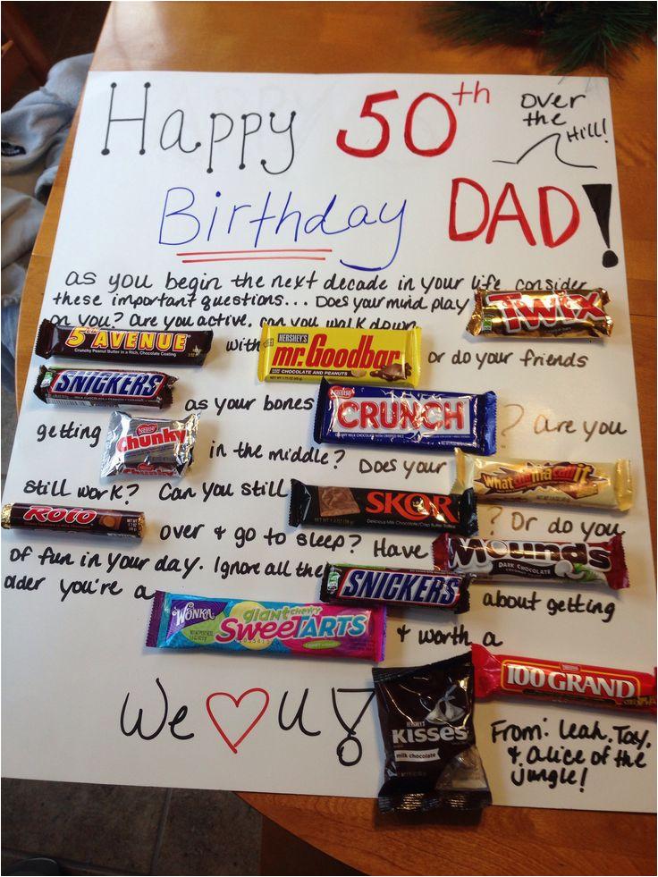 50th birthday gift ideas for man
