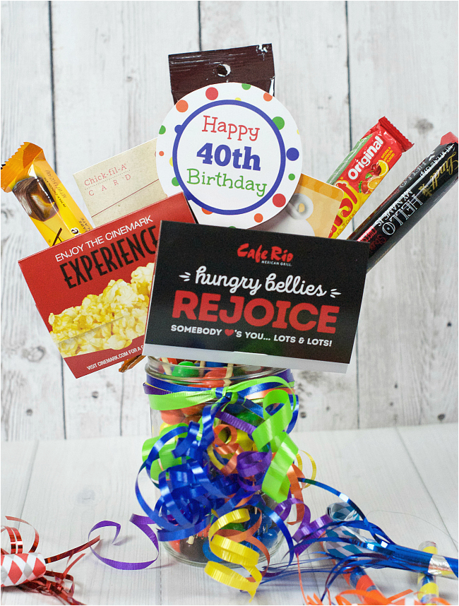 40th birthday gifts for him funny