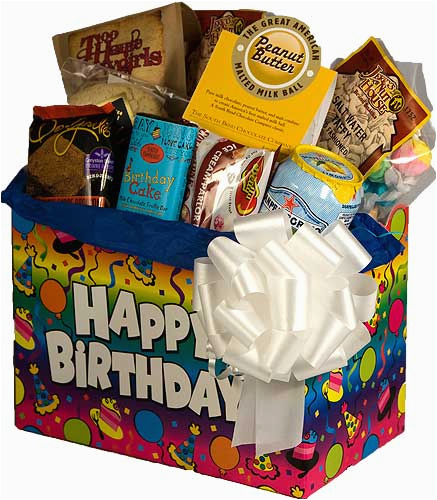 birthday sweets gift basket p 409