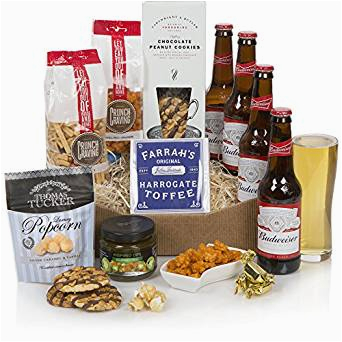 Birthday Gifts for Him Luxury Beer Lovers Hamper Food Beer Gift for Him Luxury