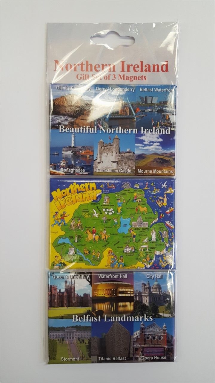 northern ireland 3 magnet gift set 22725 p