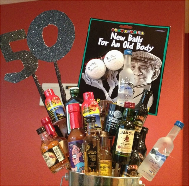 50th birthday gift ideas for man