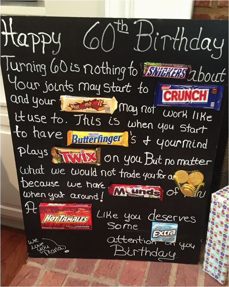 Birthday Gifts for Husband Australia Old Age Over the Hill 60th Birthday Card Poster Using