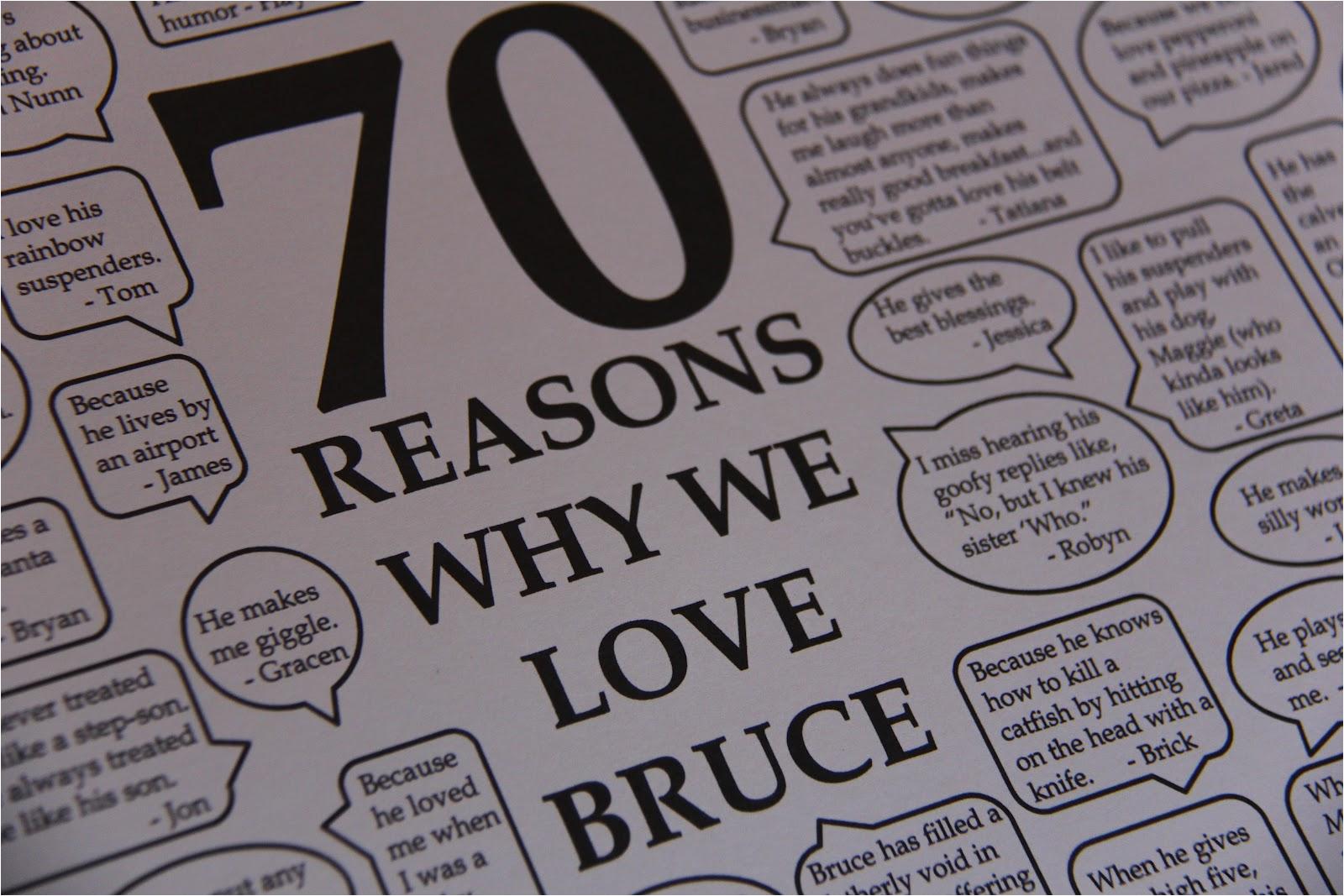 70th birthday themes ideas