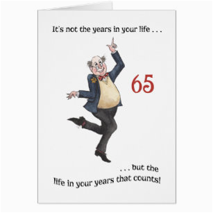 65 year old birthday cards