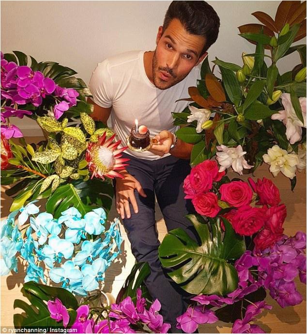 everything ryan channing celebrates 28th birthday with boyfriend ian t