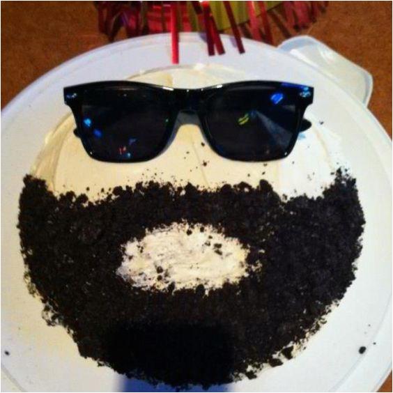 no shavember cakes beard themed guys