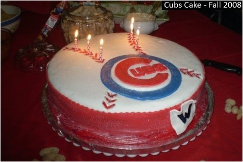 chicago cubs cakes