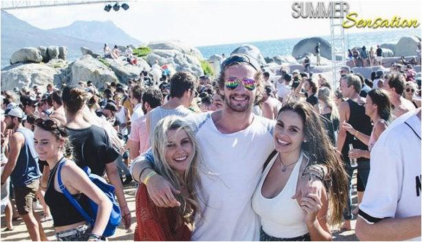 summer sensation beach party