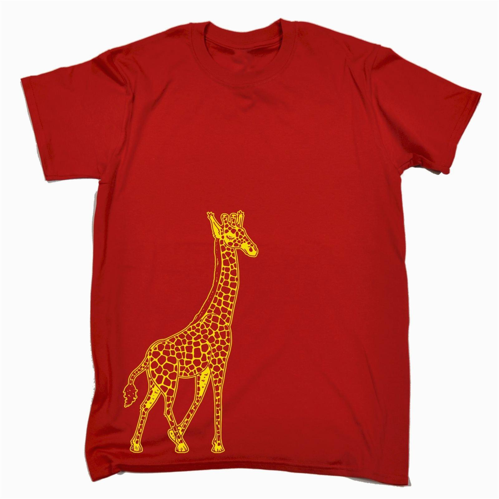 Birthday Present for Him south Africa Giraffe T Shirt Tee Design Africa Animal Funny Birthday
