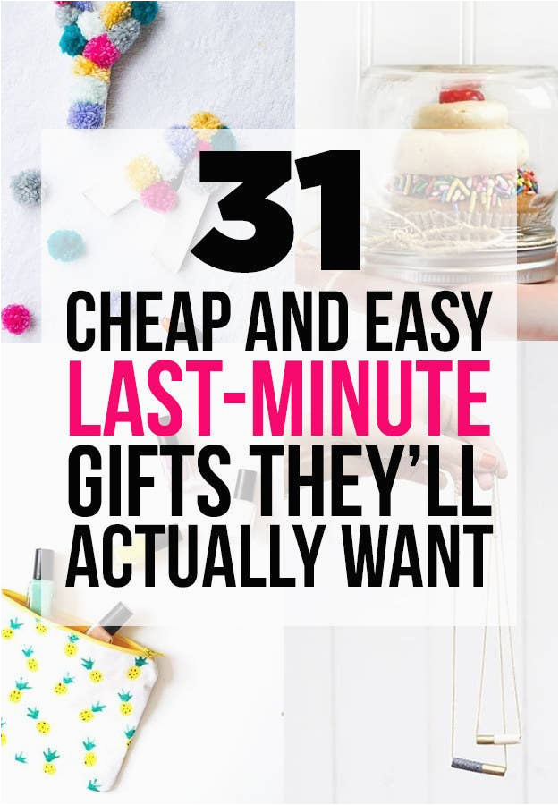 Budget Birthday Gifts for Him 31 Cheap and Easy Last Minute Diy Gifts they 39 Ll Actually Want
