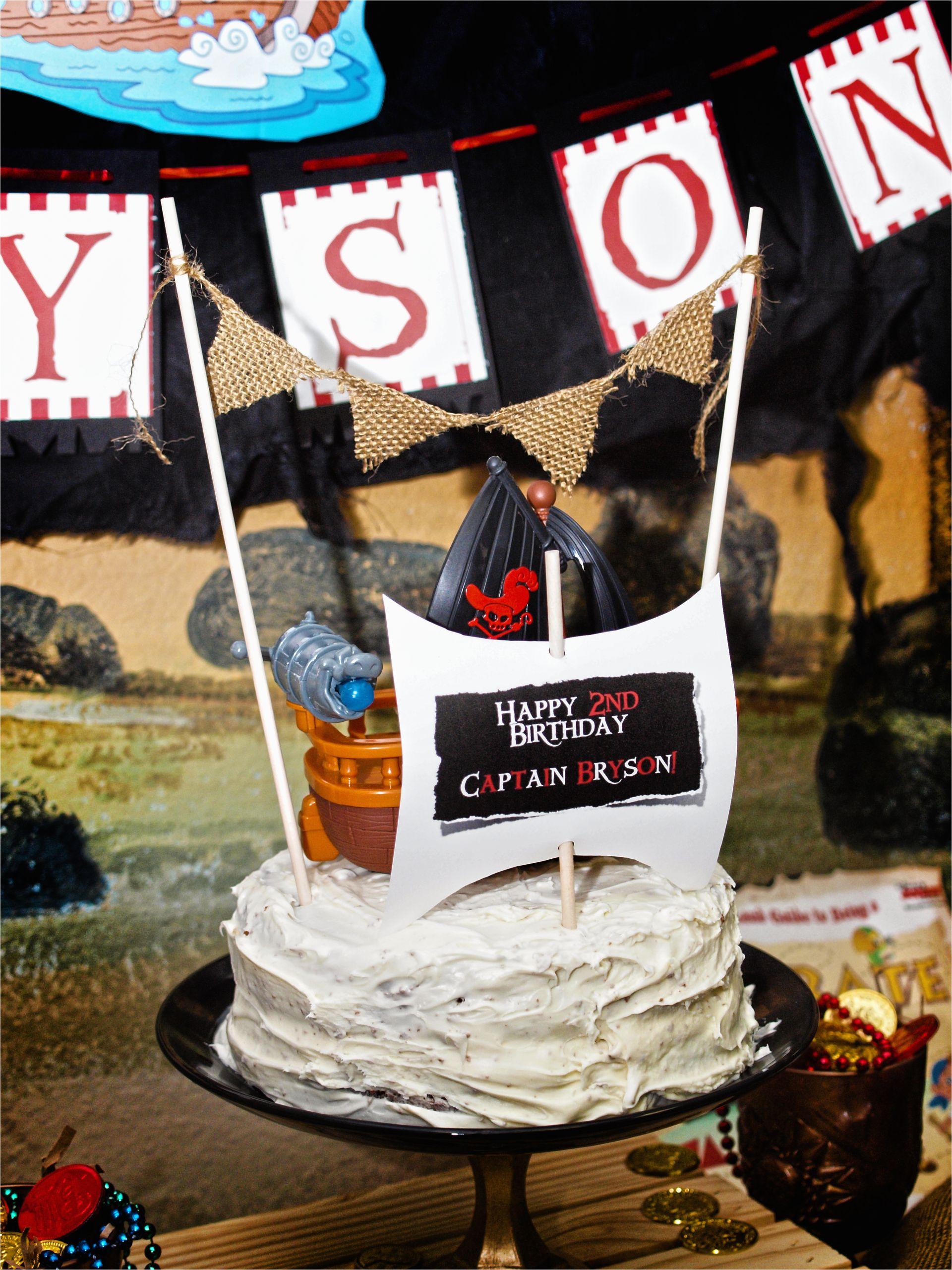 jake the neverland pirates birthday party