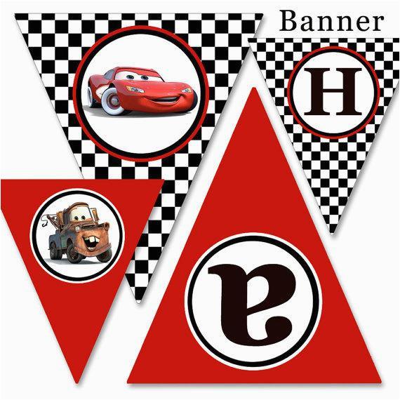 diy printable cars cars 2 party happy