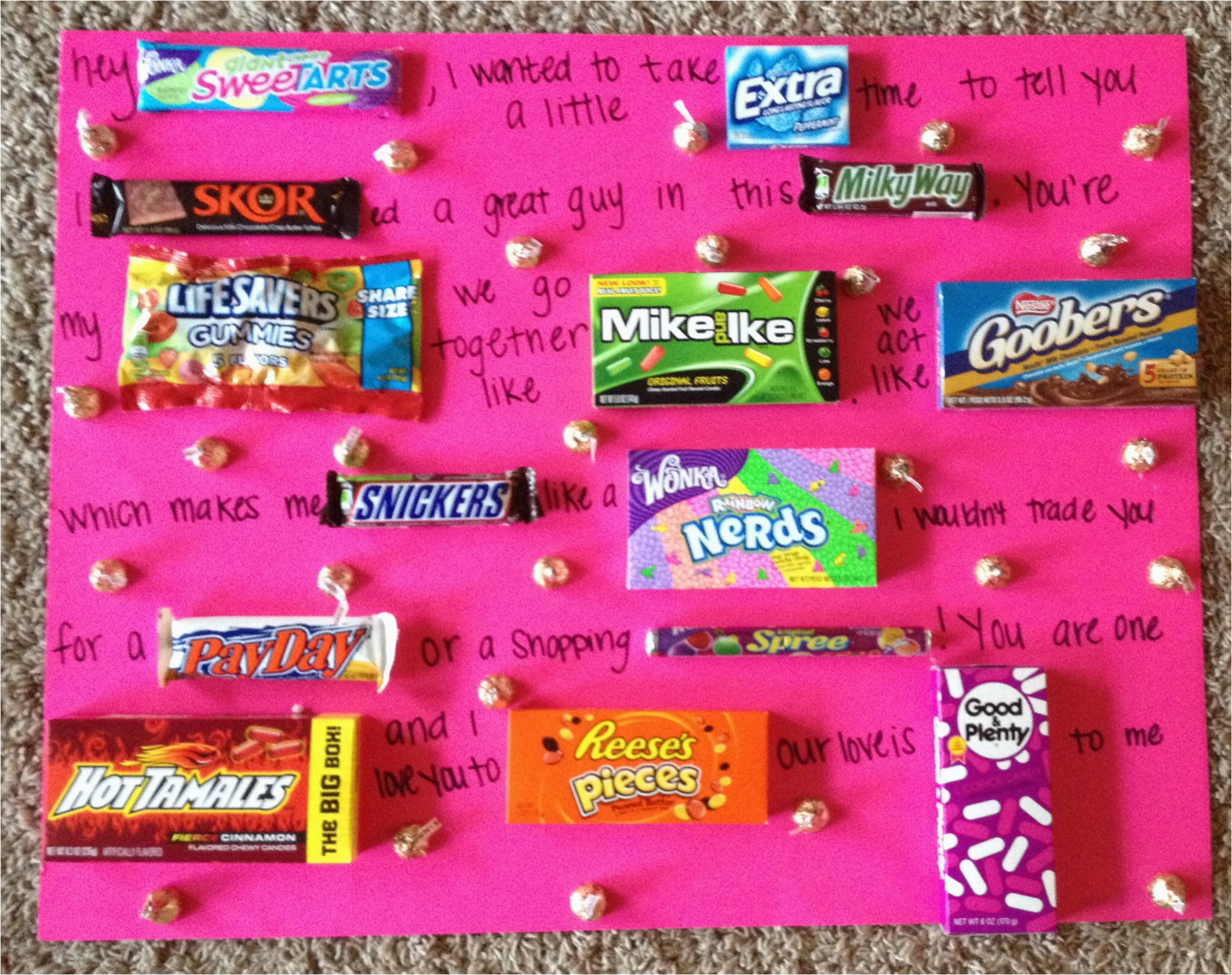 Cheap Birthday Gifts for Husband Gifts for Boyfriend Gifts for Husband Diy Valentines