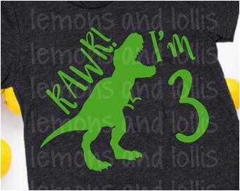 Dinosaur Happy Birthday Banner Svg Dinosaur Birthday Svg Etsy