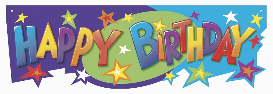happy birthday sign template