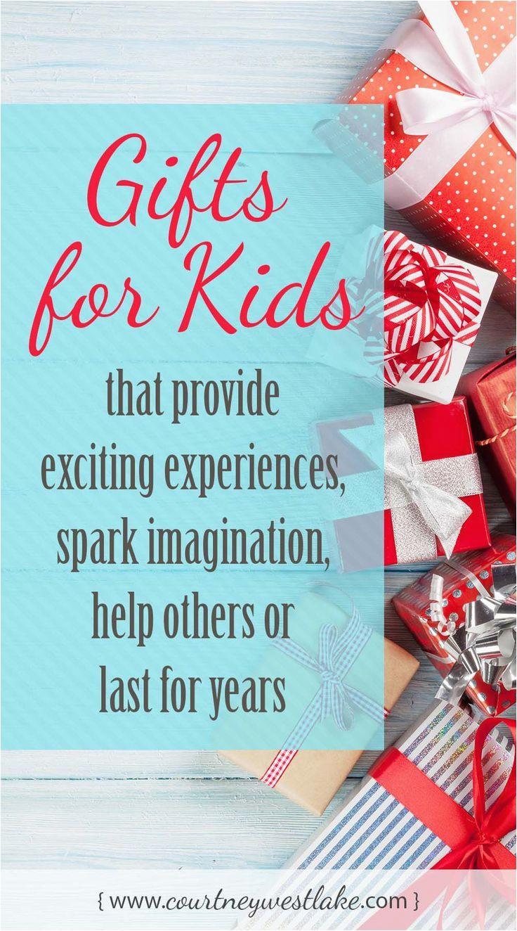 Exciting Birthday Presents for Him Gift for Kids that Spark Imagination Offer Experiences
