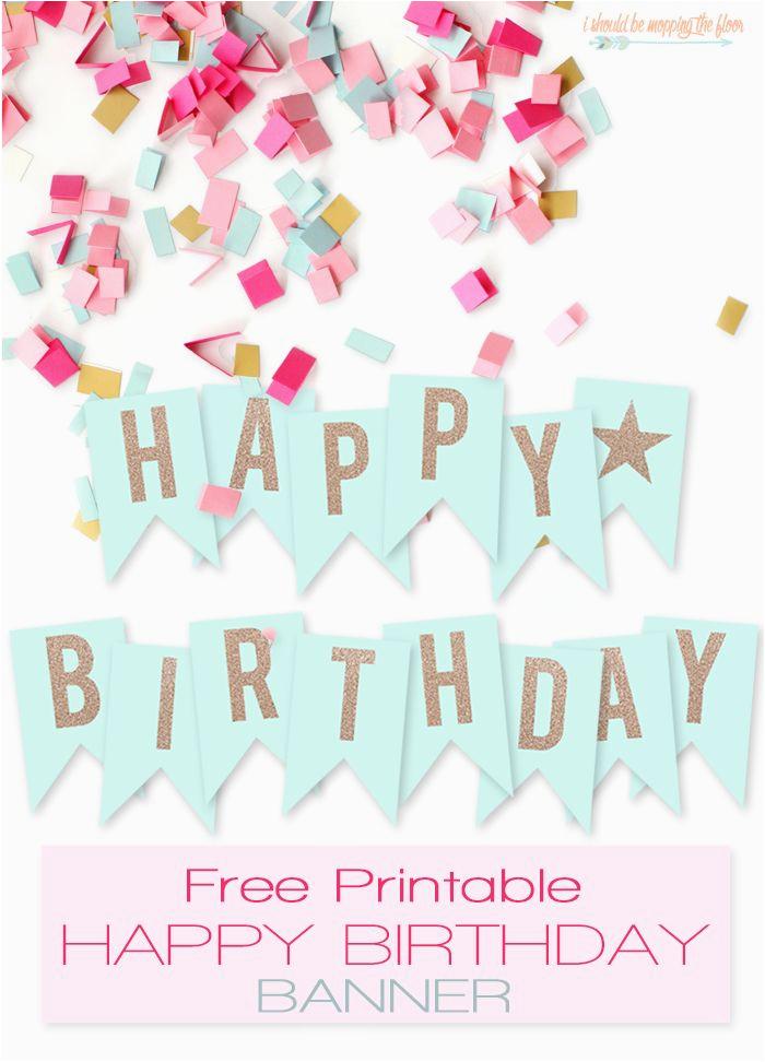 Free Download Happy Birthday Banner Free Printable Happy Birthday Banner Happy Offices and