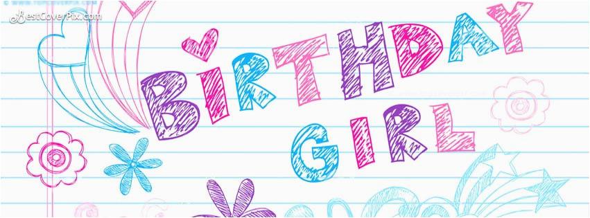 happy birthday fb banner for girls