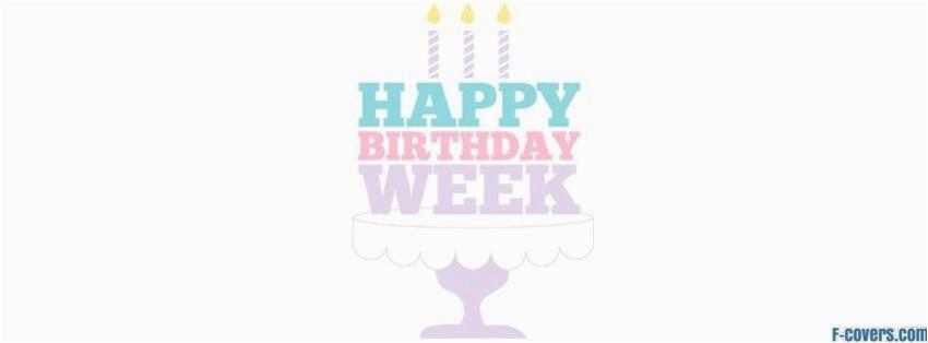 happy birthday week
