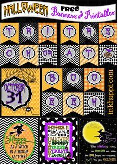 Free Printable Halloween Happy Birthday Banner 52 Best All Hallows Eve Free Printable Banners Images