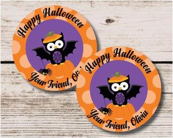 halloween pumpkin happy birthday banner