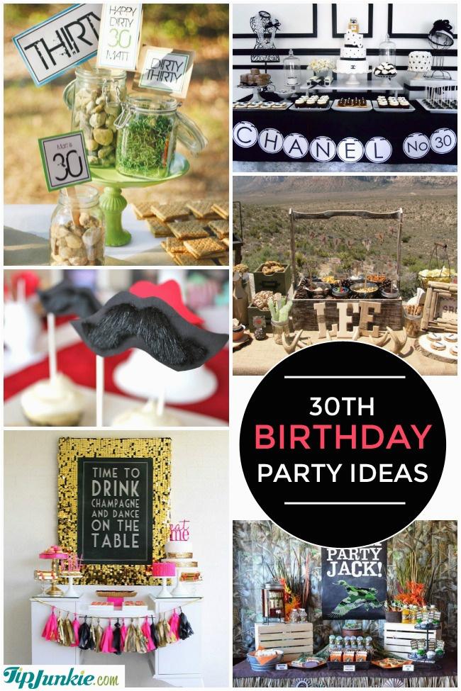 30th birthday party ideas also 20th 40th 50th 60th