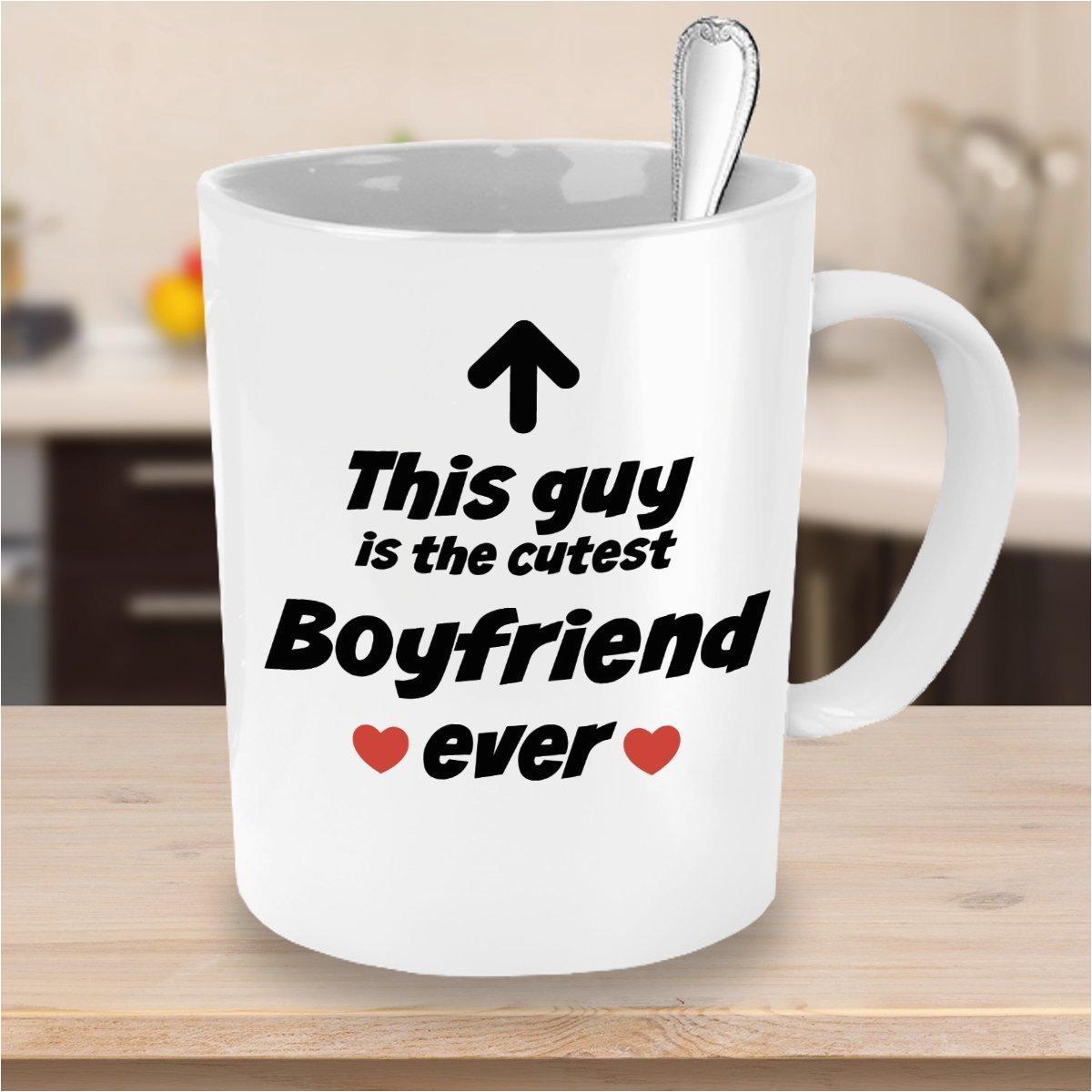 boyfriend mug cutest boyfriend ever funny coffee mug unique christmas present idea for men best family cup and birthday gag gift for brothers dad kids son husband 1008579087