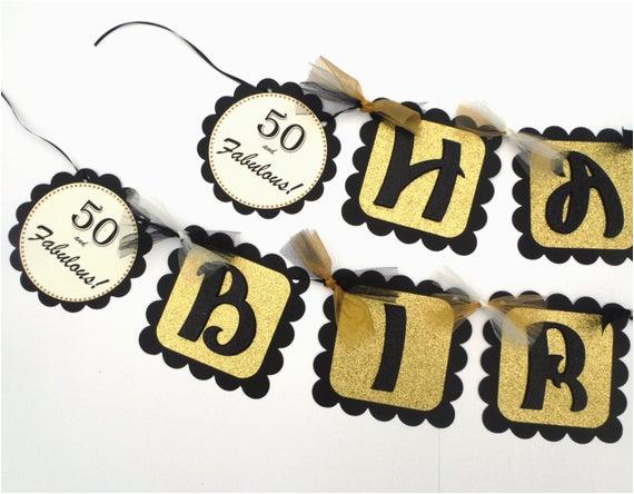 black and gold glitter happy birthday