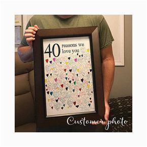 Good 40th Birthday Presents for Husband 40th Birthday Gift for Man 40th Birthday Gifts for