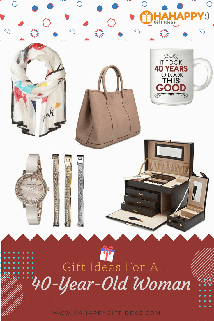 gift ideas for a 40 year old woman