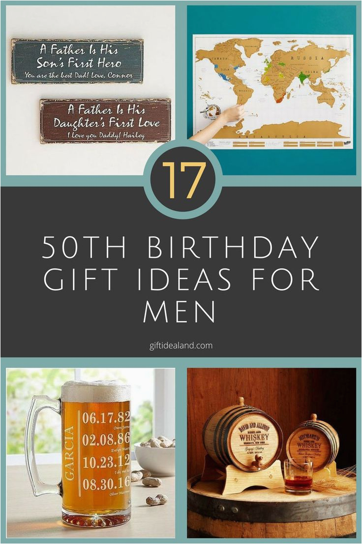 Great 50th Birthday Gift Ideas for Him 17 Good 50th Birthday Gift Ideas for Him Dads 50th