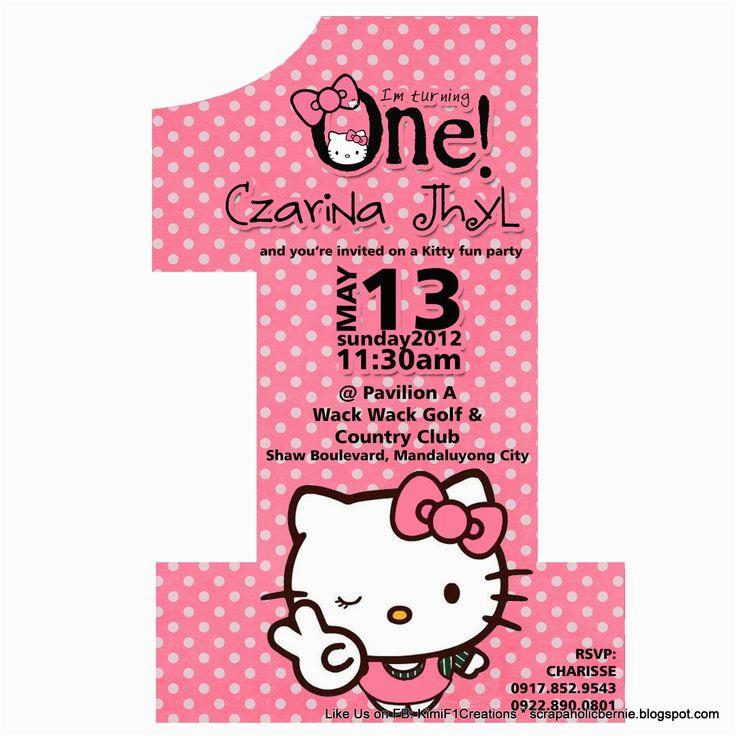 Happy 1st Birthday Hello Kitty Banner 25 Best Images About Nahya 39 S 1st Birthday Hello Kitty On