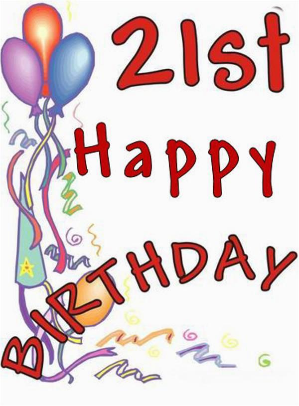 happy 21st birthday graphics