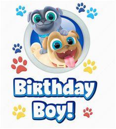 Happy 2nd Birthday Banner Boy Craft Your Own Diy Sail Boat Race with Bingo Rolly Hissy