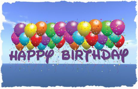 Happy 2nd Birthday Banner Girl Second Life Marketplace Happy Birthday Balloons