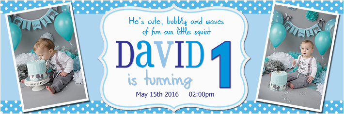 Happy 2nd Birthday Banners 1st Birthday Banners for Boys Personalised 18