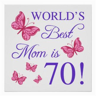 happy birthday mom posters