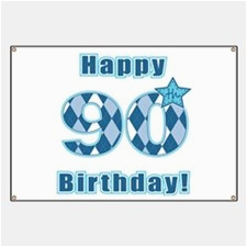 happy 90th birthday banners