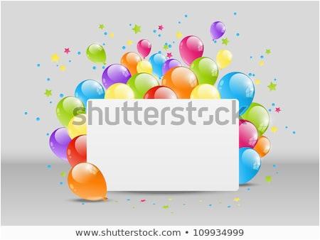 Happy Birthday Balloon Banner asda Happy Birthday Stock Images Royalty Free Images Vectors