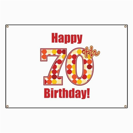 happy 70th birthday banner 834886239