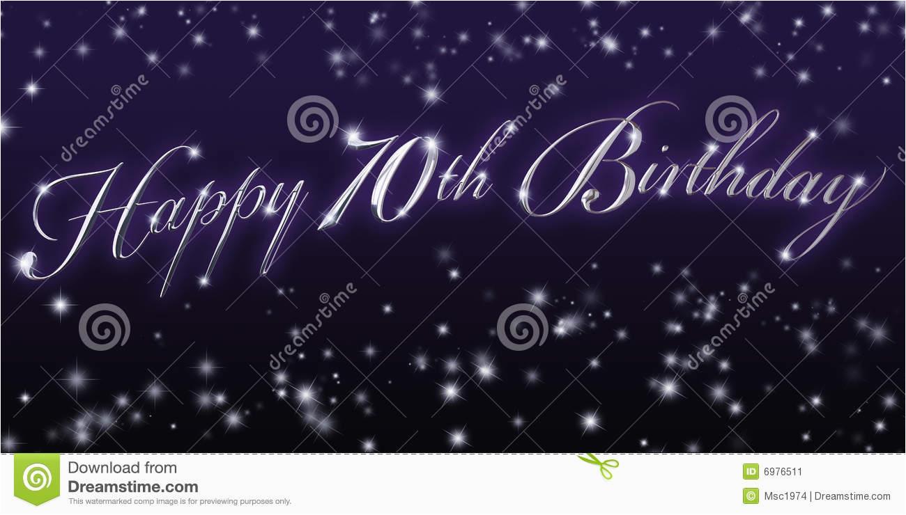 stock image happy 70th birthday banner image6976511