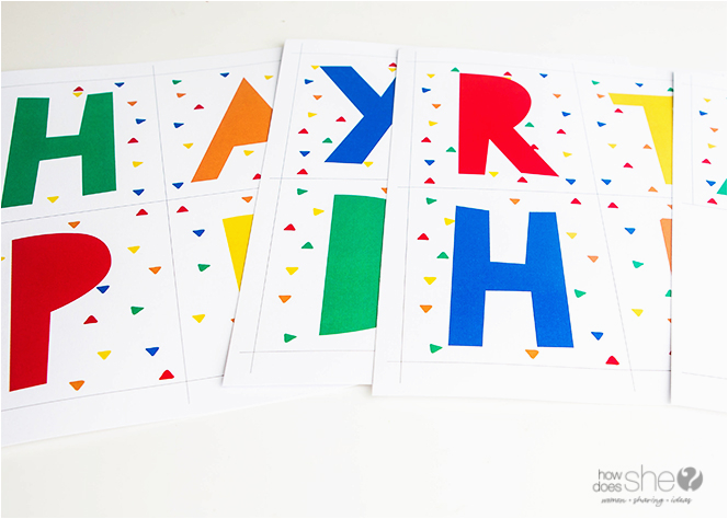 birthday countdown banner