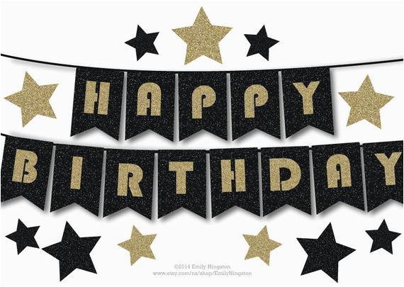 happy birthday bunting banner printable