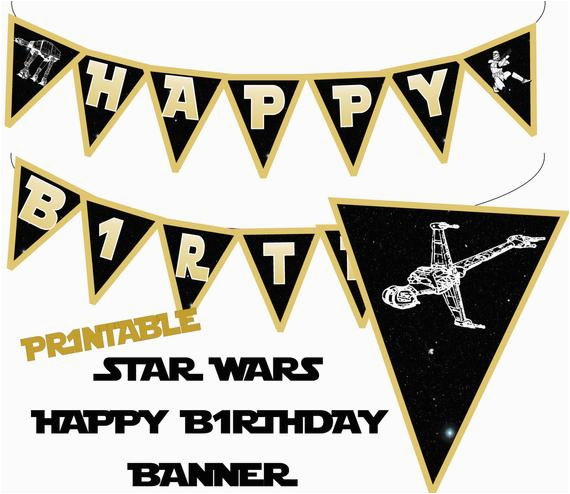 star wars banner star wars happy